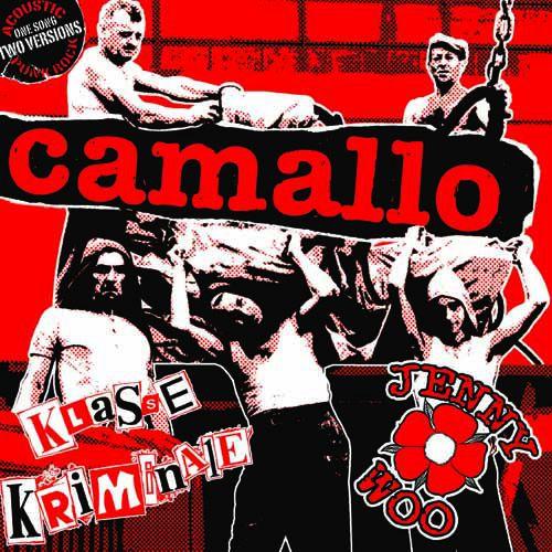 """KLASSE KRIMINALE / JENNY WOO - Camallo - 7"""" e.p."""
