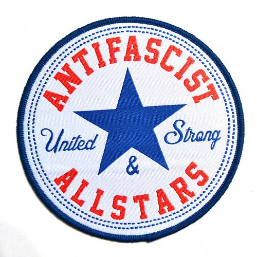 Image result for always antifascist converse logo