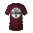 One Two Six Clothing - rip off burgundy