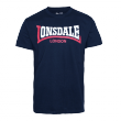 Lonsdale - two tone shirt navy