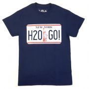 H2O - license plate