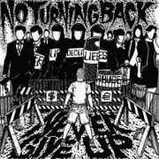 No Turning Back - never give up CD