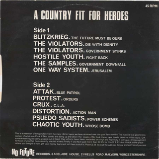 V/A - A Country Fit For Heroes