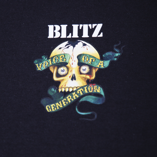Blitz - Voice of A Generation pocket print T-Shirt