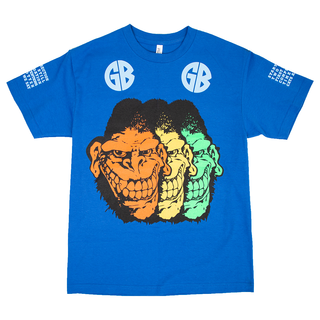Gorilla Biscuits - Start Today T-Shirt  royal blue