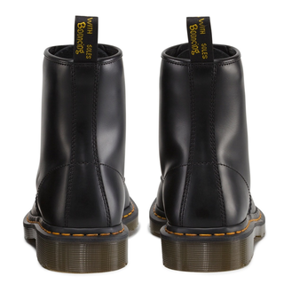 Dr. Martens - 1460 black smooth DMC SM-B 8-eye boot smooth (gelbe Naht)