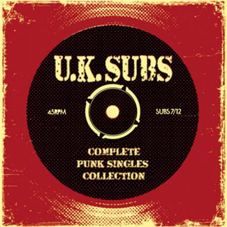 UK Subs - complete punk singles collection