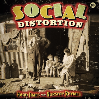 Social Distortion - hard times and nursery rhymes 2xLP