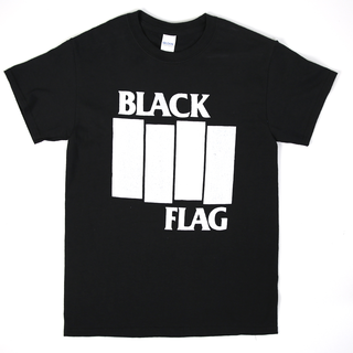 Black Flag - bars & logo black