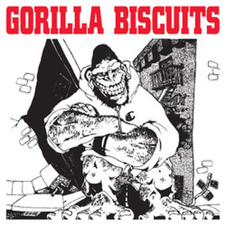 Gorilla Biscuits - ep cover
