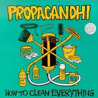 Propagandhi - how to clean everything:20th anniversary edition LP+DLC