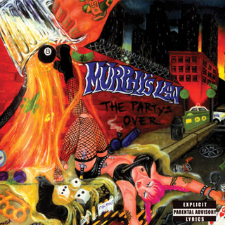 Murphys Law - the partys over color LP