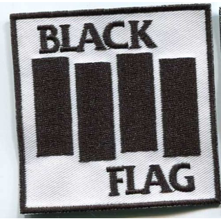 Black Flag - bars black on white