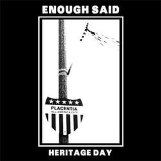 Enough Said - heritage day