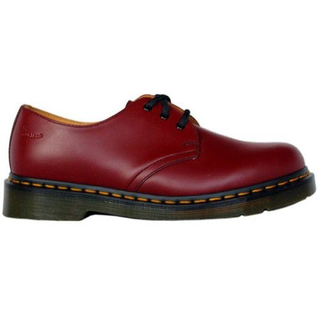 Dr. Martens - 1461 cherry red smooth DMC SM-CR 3-eye shoe smooth (gelbe Naht)
