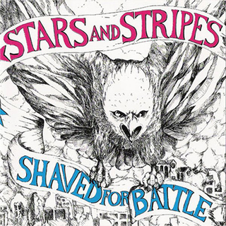 Stars And Stripes - shaved for battle ltd. red