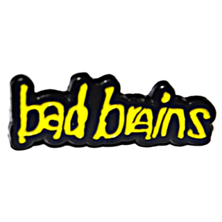 Bad Brains - logo yellow