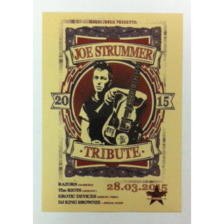 Joe Strummer - tribute 2015