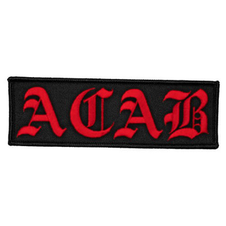 ACAB - logo red