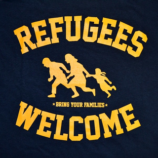 Refugees Welcome - bring your families