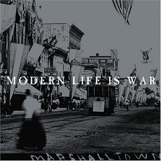 Modern Life Is War - witness 10th Anniversary Edition clear silver black splatter LP+Booklet