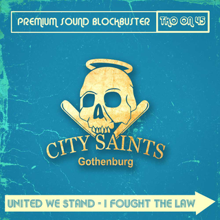 City Saints / Oldfashioned Ideas - split 7+DLC+Patch (blue cover)