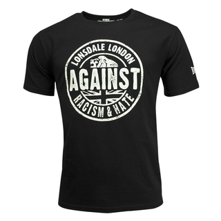 Lonsdale - against racism shirt  L