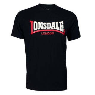 Lonsdale - two tone shirt black