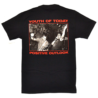 Youth Of Today - positive outlook black