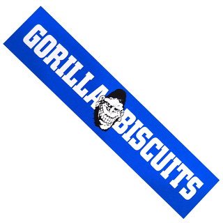 Gorilla Biscuits - long blue