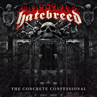 Hatebreed - the concrete confessional clear LP