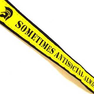 Sometimes Antisocial - always antifascist