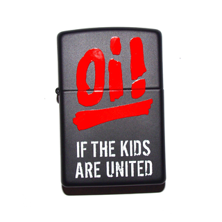 Oi! If The Kids Are United - logo