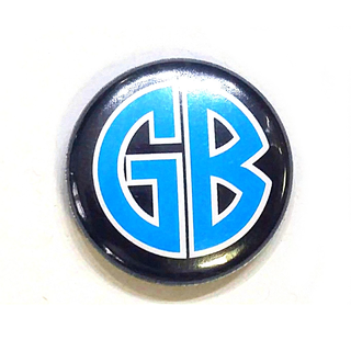 Gorilla Biscuits - logo blue
