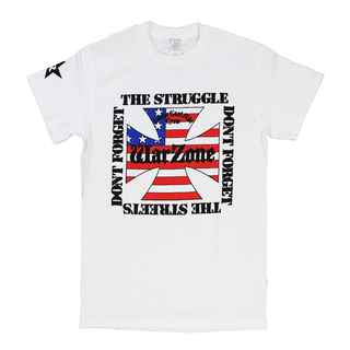 Warzone - dont forget the struggle white XL