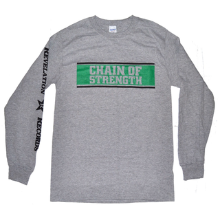Chain Of Strength - logo grey