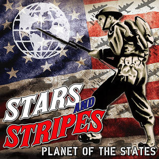 Stars And Stripes - planet of the states  ltd. Pic. LP+Patch+Poster