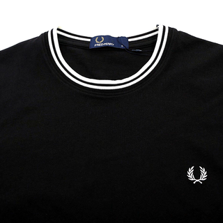 Fred Perry - twin tipped T-Shirt M1588 black 102
