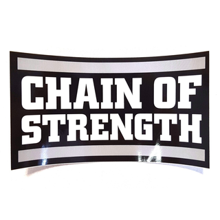 Chain Of Strength - logo black