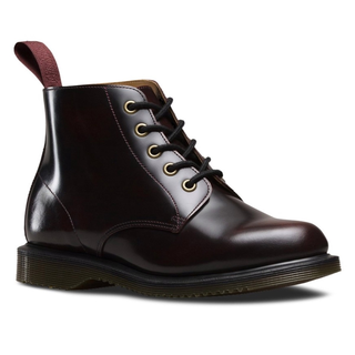 Dr. Martens - emmeline smooth cherry red 5-eye boot