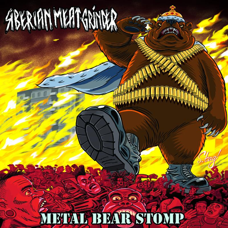 Siberian Meat Grinder - metal bear stomp, 12,99 €