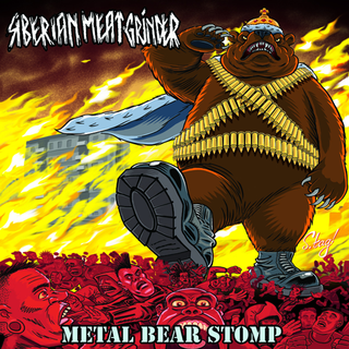 Siberian Meat Grinder - metal bear stomp black LP+DLC