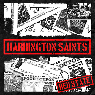 Harrington Saints - red state white 7