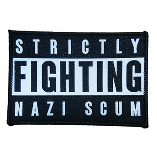 Strictly Fighting Nazi Scum - logo