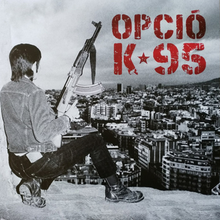 Opcio K95 - cap oportunitat blue red LP