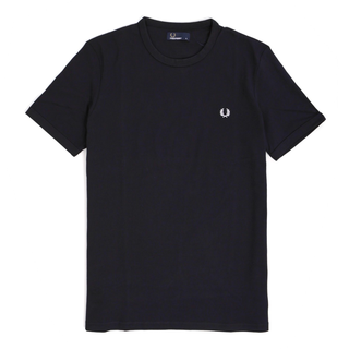 Fred Perry - ringer T-Shirt M3519 navy 608