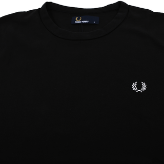 Fred Perry - ringer T-Shirt M3519 black 102