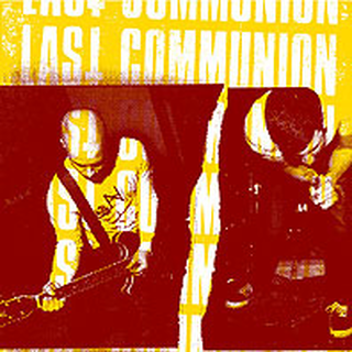 Last Communion - same oneside 12 with silkscreened B-side