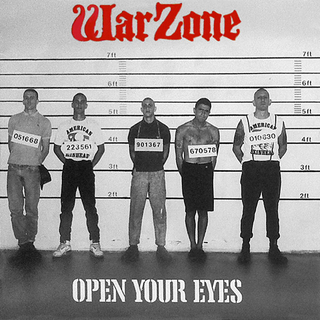 Warzone - open your eyes CD