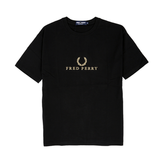 Fred Perry - embroidered Girl Shirt G3108 black 236